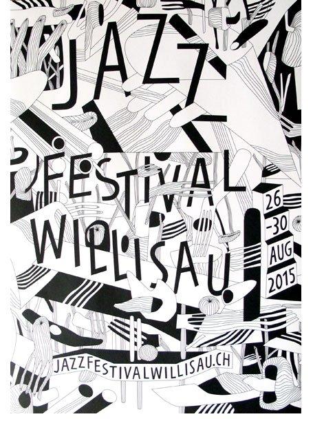 Plakat Jazzfestival Willisau