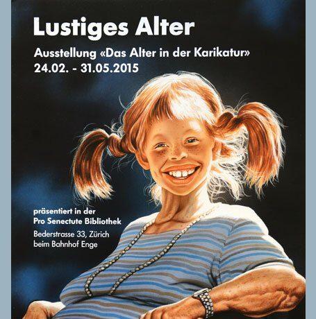 Plakatkampagne Lustiges Alter Zürich