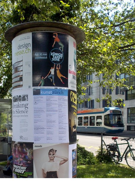 Promotion Plakat Zürich Tanzt 2015