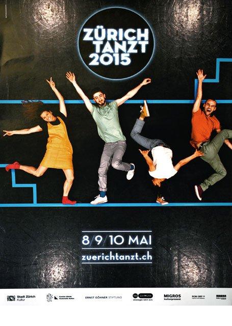 Plakat Zürich Tanzt 2015