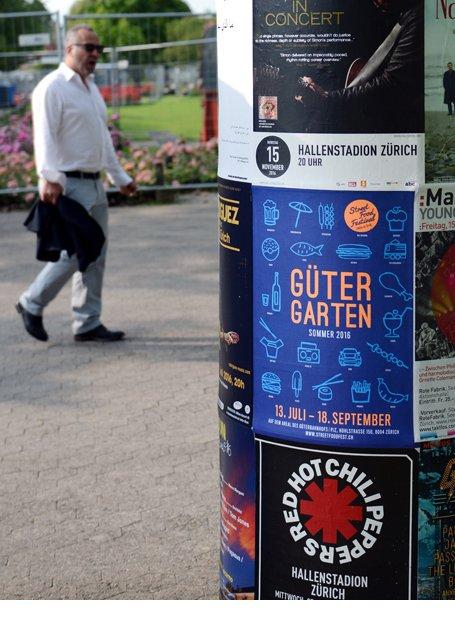 Promoaktion Güter Garten Zürich