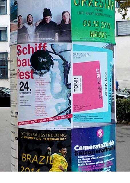 Promotion Schauspielhaus Zürich