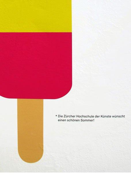 Plakat Promotion ZHdK