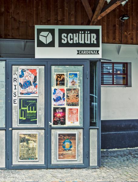 Plakataushang Schweiz