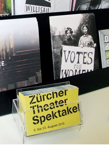 Promotion Zürcher Theaterspektakel