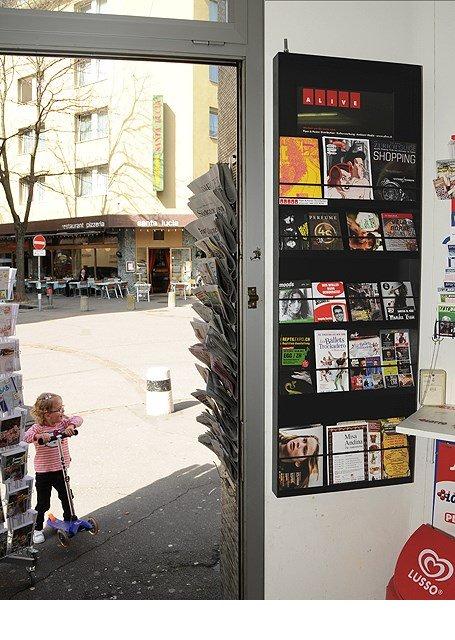 Flyerbox Pinto's Kiosk, Josefstrasse