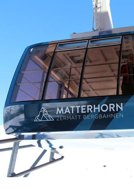 Werbung Bergbahnen Zermatt