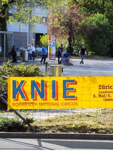 Promotion Street Banner Zürich