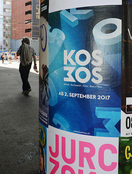 Werbekampagne Kosmos