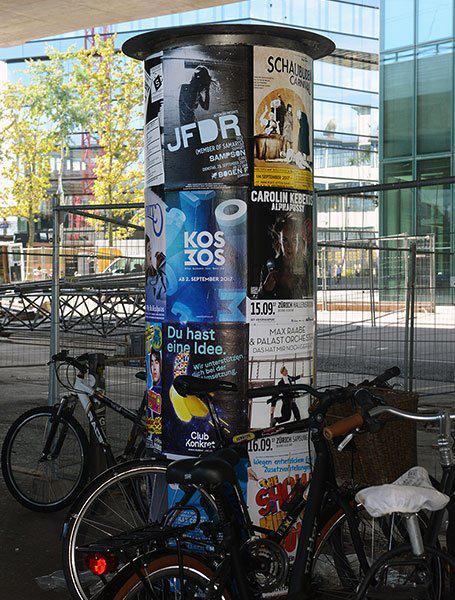 Plakatkampagne Kosmos Zürich