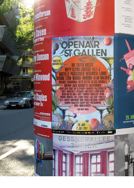 Promotion OpenAir St. Gallen