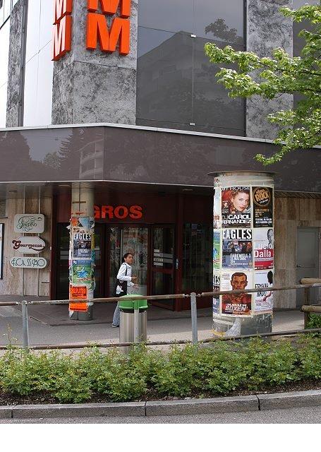 Plakataushang Schweiz ALIVE Media