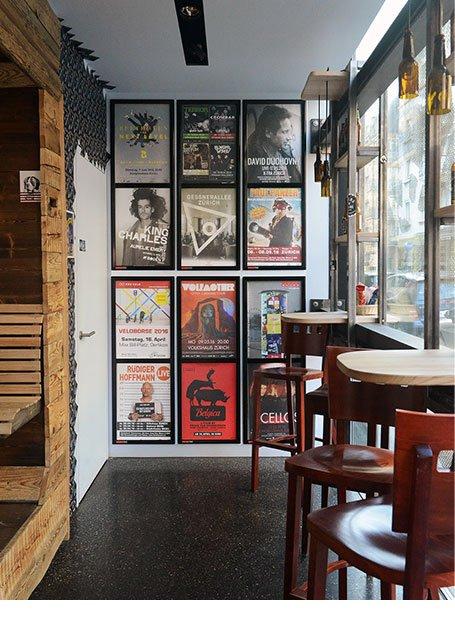 Plakataushang Zürich Bar Kreis 4