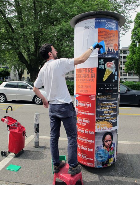 Job Plakateur Zürich