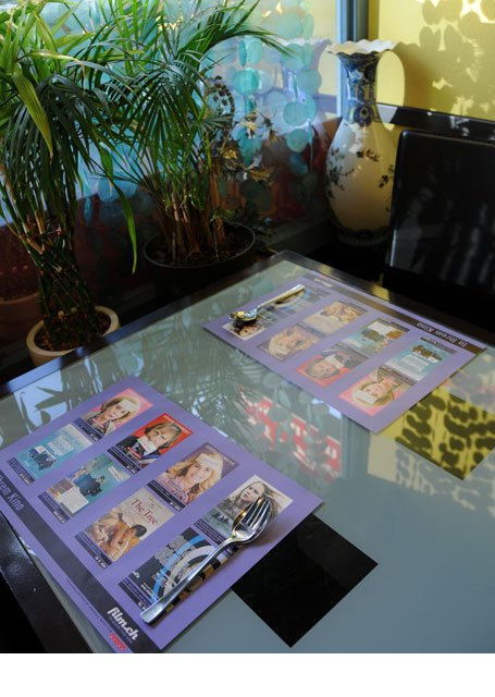 Filmpromotion Tischset