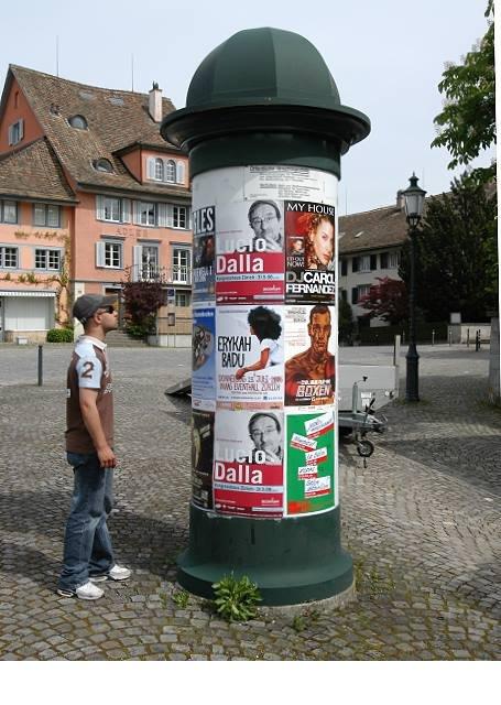 Job Plakatierung Zürich
