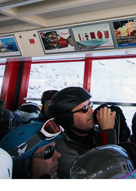 Werbung Bergbahnen