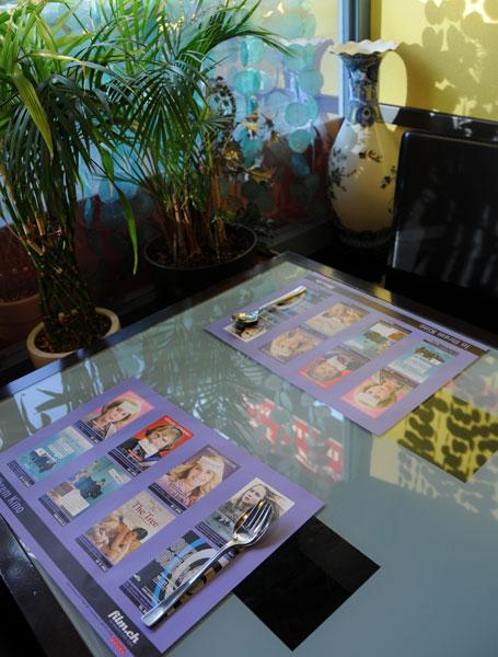 Film Promotion Tischset